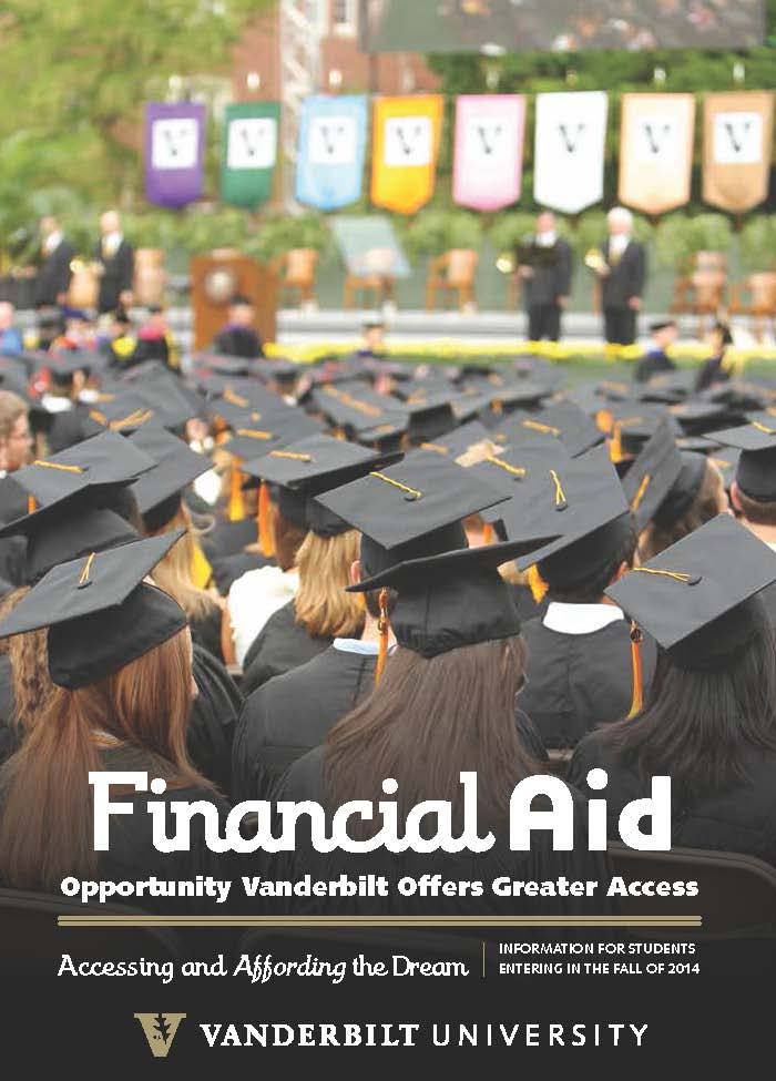 Vanderbilt Financial Aid Brochure 2013