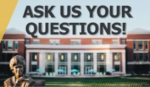 Webinar - Ask us your questions about Vanderbilt!