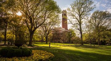 Vanderbilt Owen Graduate School of Management campus in Nashville Tennessee.