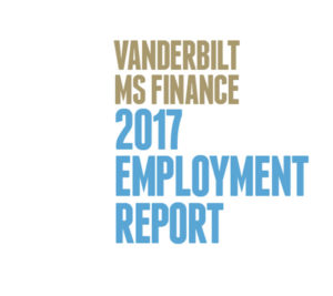 2017 MS Finance Employment Report