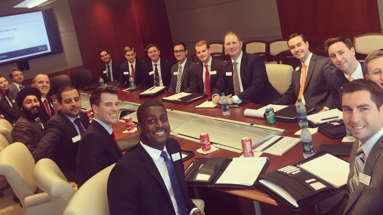 Students Exploring Finance and Consulting Head East for Immersion Week