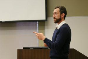 Brook Meissner works in career management for international students