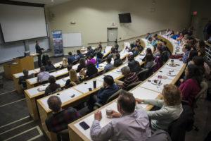 Former Flint Mayor Dayne Walling speaks at Vanderbilt Business