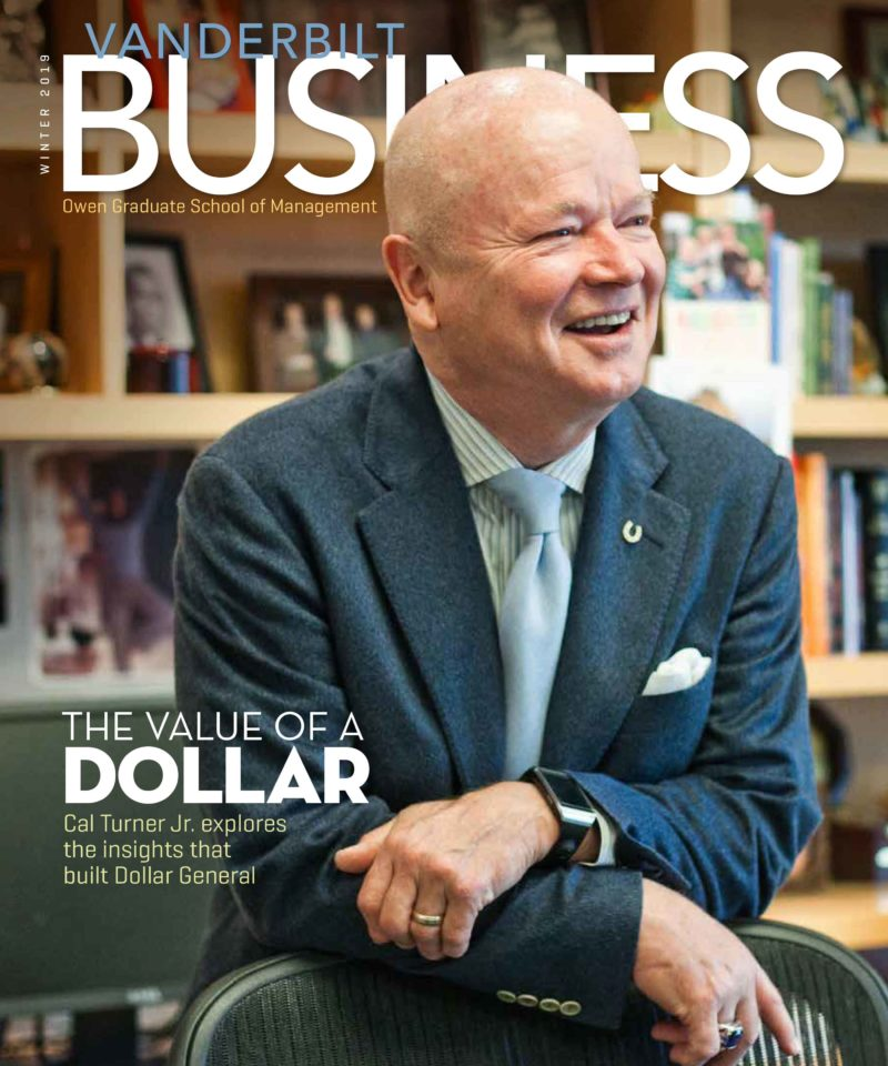 Vanderbilt Business Magazine Winter 2019