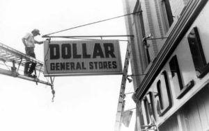 "The ""high-tech"" activity of opening a Dollar General store in the early days was a bit different than today."