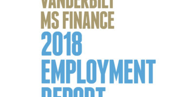 MS Finance Employment Report 2018