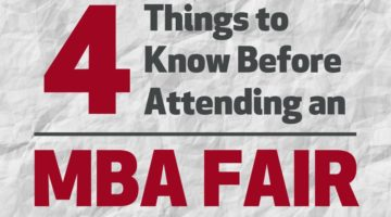 4 Things to Know Before Attending an MBA Fair