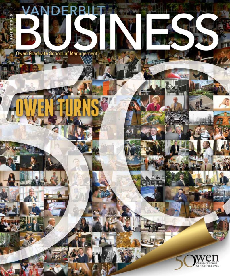 Vanderbilt Business Magazine Summer 2019