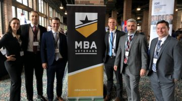 MBA Veterans Conference Connects Students with Recruiters