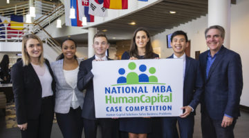Vanderbilt Business Hosts the National MBA Human Capital Case Competition, Vanderbilt Team Places Second