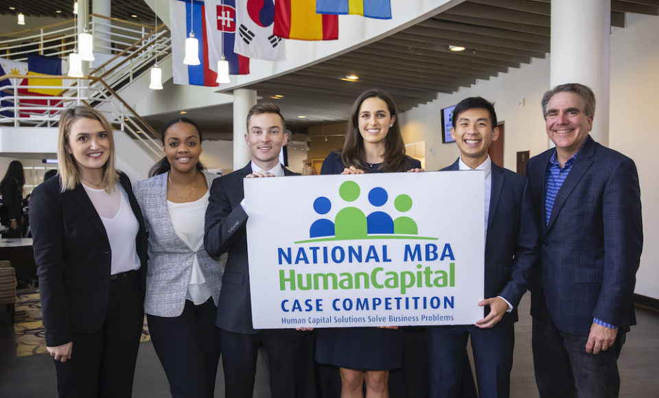 Vanderbilt Business Hosts the National MBA Human Capital Case Competition, Vanderbilt Team Places Second