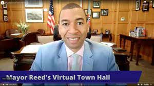 Reed has led a series of virtual town halls