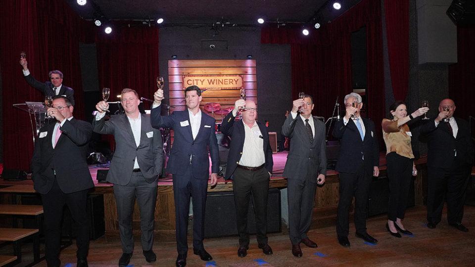 Raising a final glass to Owen's 50th anniversary
