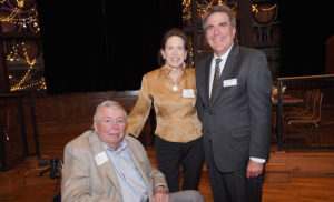 Owen Dean M. Eric Johnson visits with Fred & Gigi Lazenby