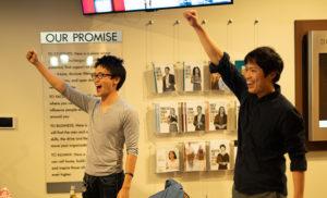 Japanese party comedic act called nininbaori