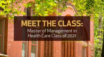 Meet the Vanderbilt Master of Management in Health Care Class of 2021
