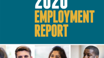 2020 Employment Report Cover