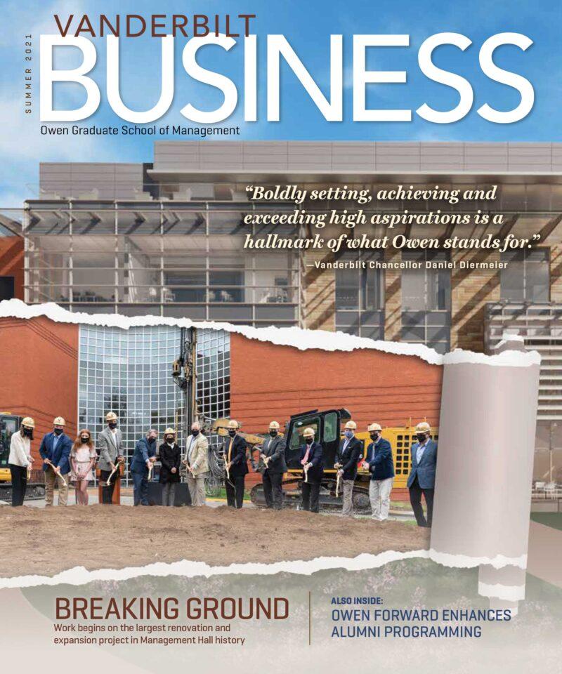 Vanderbilt Business Magazine Summer 2021