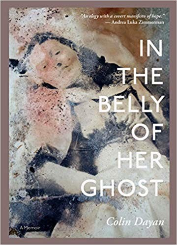 Book cover in the belly of her ghost