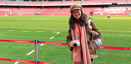 Yining Ding, BA'22: Studying the Mass Psychology of Soccer Culture