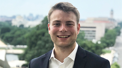 William Franke BA'20: Interning in Government Finance