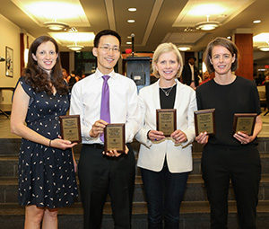 Cheng, George, Allensworth and Wuerth honored with Hall-Hartman Awards