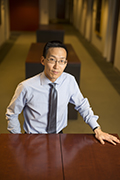 Professor Ed Cheng Photo by Joe Howell
