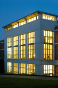 Vanderbilt Law School Building at dusk