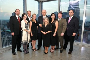 Tarkington family in 2011 at the annual Founders Circle Dinner