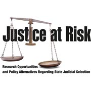 Justice at Risk logo