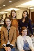 Sarah Doran Murray, Erica Smith, Danielle Barav and Andrea Schronce
