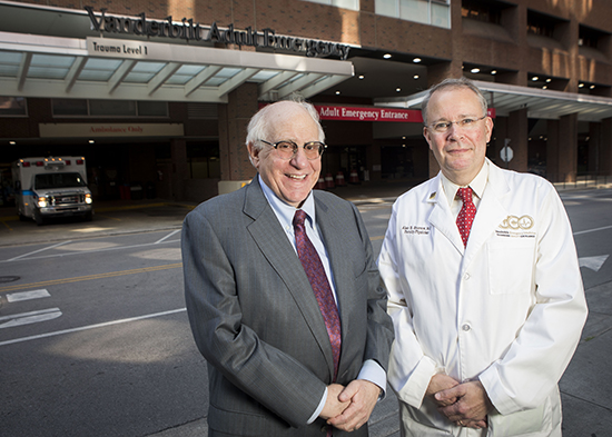 Professor James Blumstein and Dr. Alan Storrow