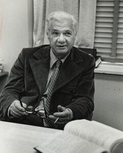 Vanderbilt Law Professor Junius Allison, credited with beginning the Vanderbilt Legal Clinic in 1971.