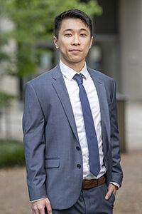 Allen King, Law Class of 2021, George Barrett Social Justice Fellow.