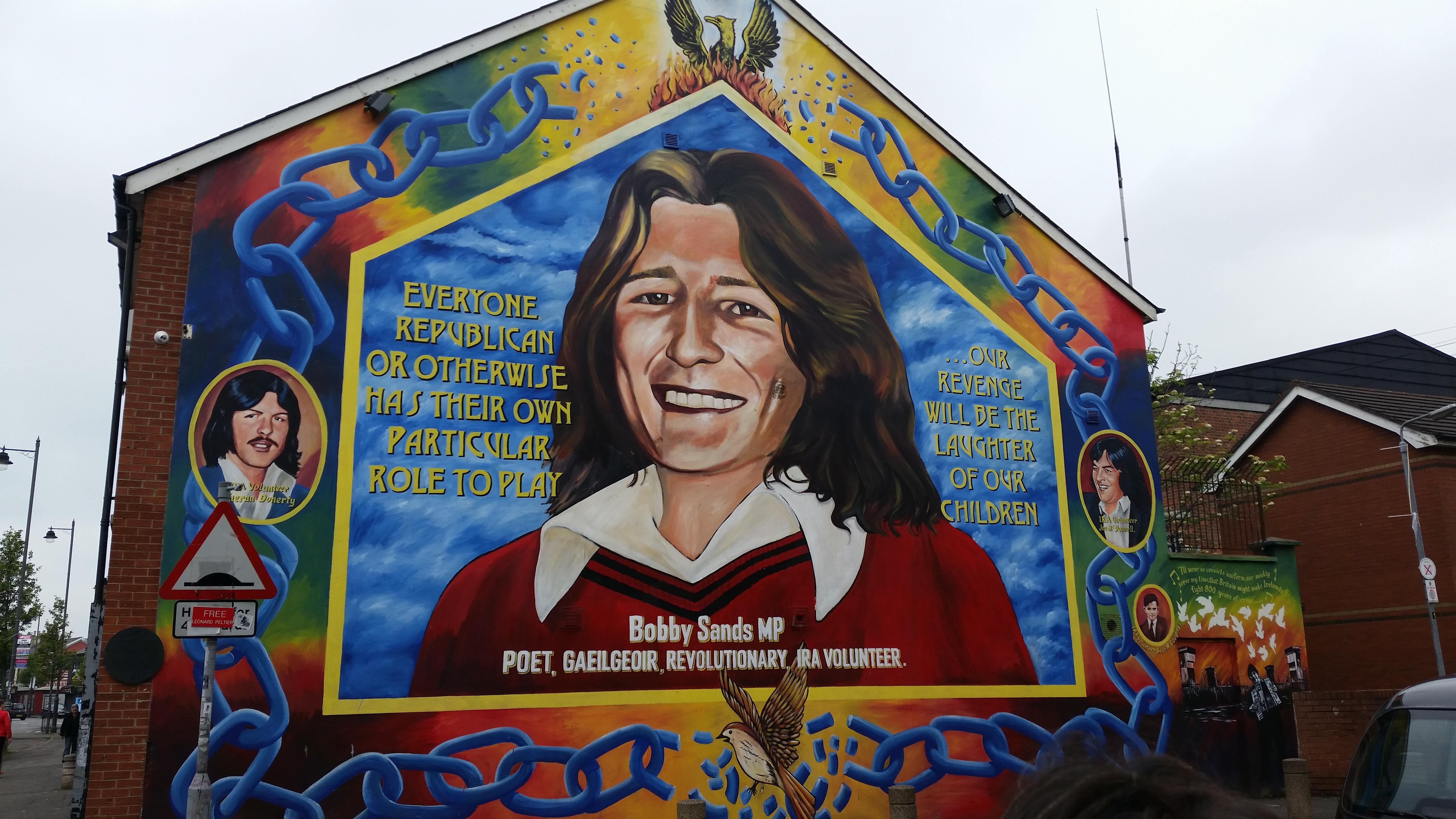 A Catholic/Republican Mural