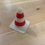 Two Color Traffic Cone