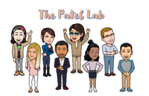 Patel Lab cartoon