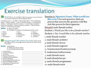 Vorsprung Exercise 11 Translation 2
