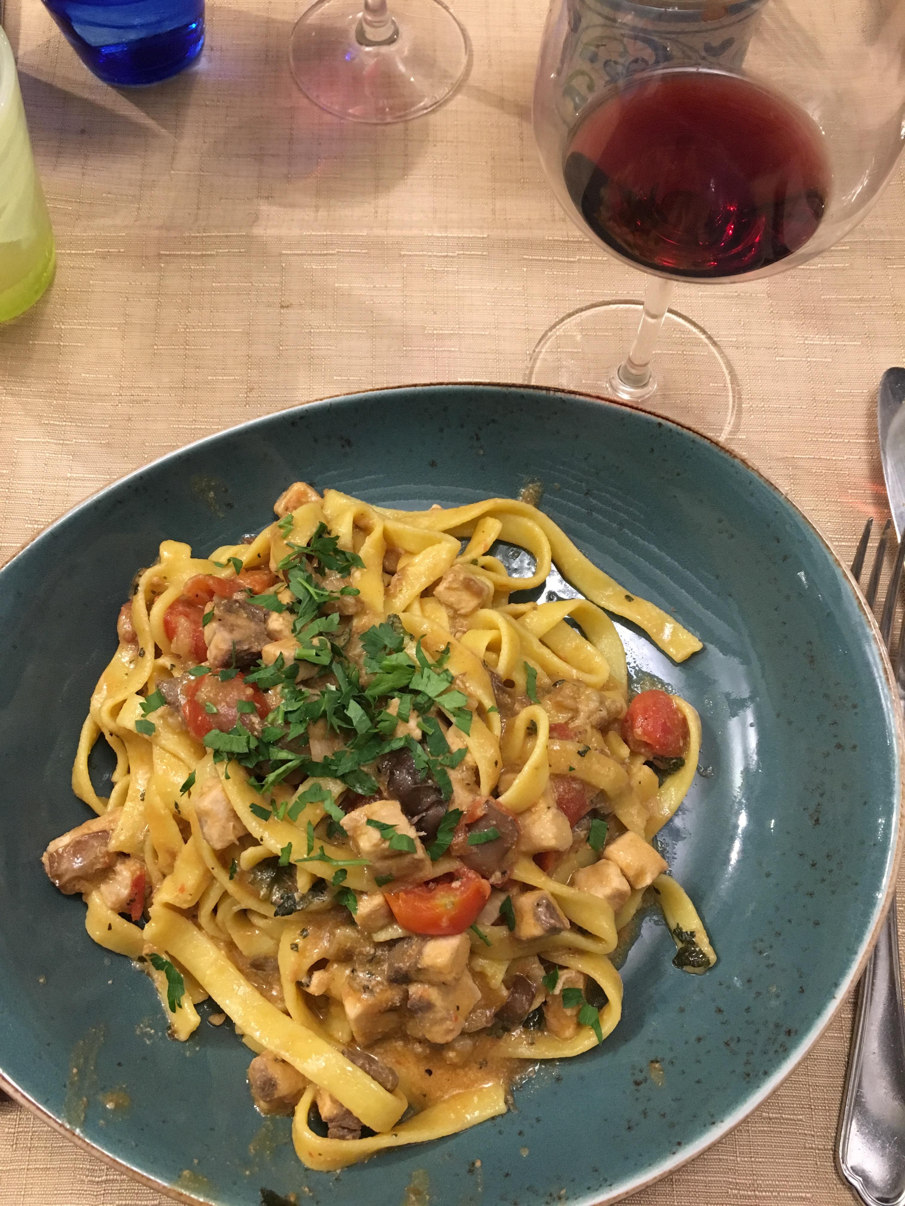 Scene From An Italian Restaurant Maymester In Sicily