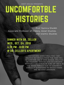 Uncomfortable Histories Poster