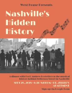 Hostetler Nashville's Hidden History