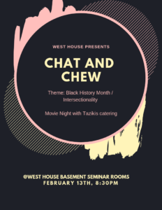 Chat and Chew Black History Month