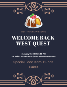 welcome back west quest
