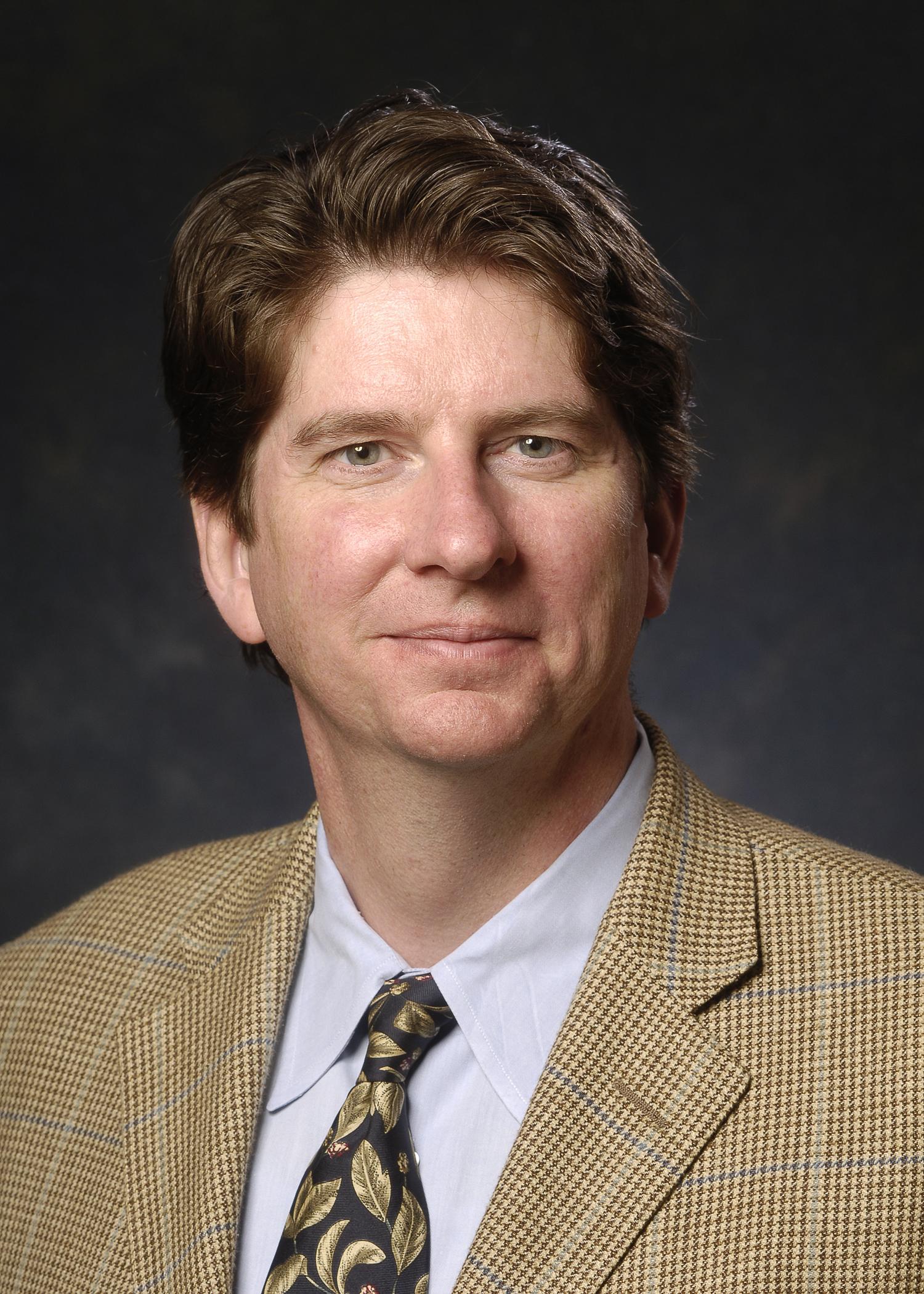 Head shot of Dr. David Sweatt (Neurobiology), 2006.