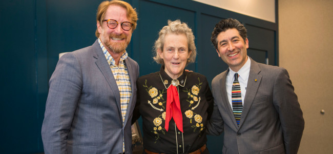Dr. Temple Grandin at the Autism, Innovation, and the Workforce Fall Conference on Nov. 29, 2018 in Nashville