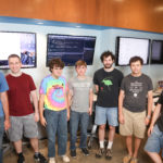 5 summer interns   Dan Burger, Josh Wade, Noah Austin, Kurt Jones, and Ben Perlin.  May include David Caudel (faculty) in the group shot. autism Photos by: Susan Urmy