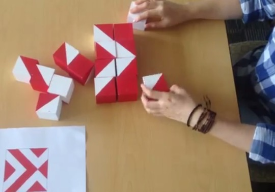 Example of the block design test