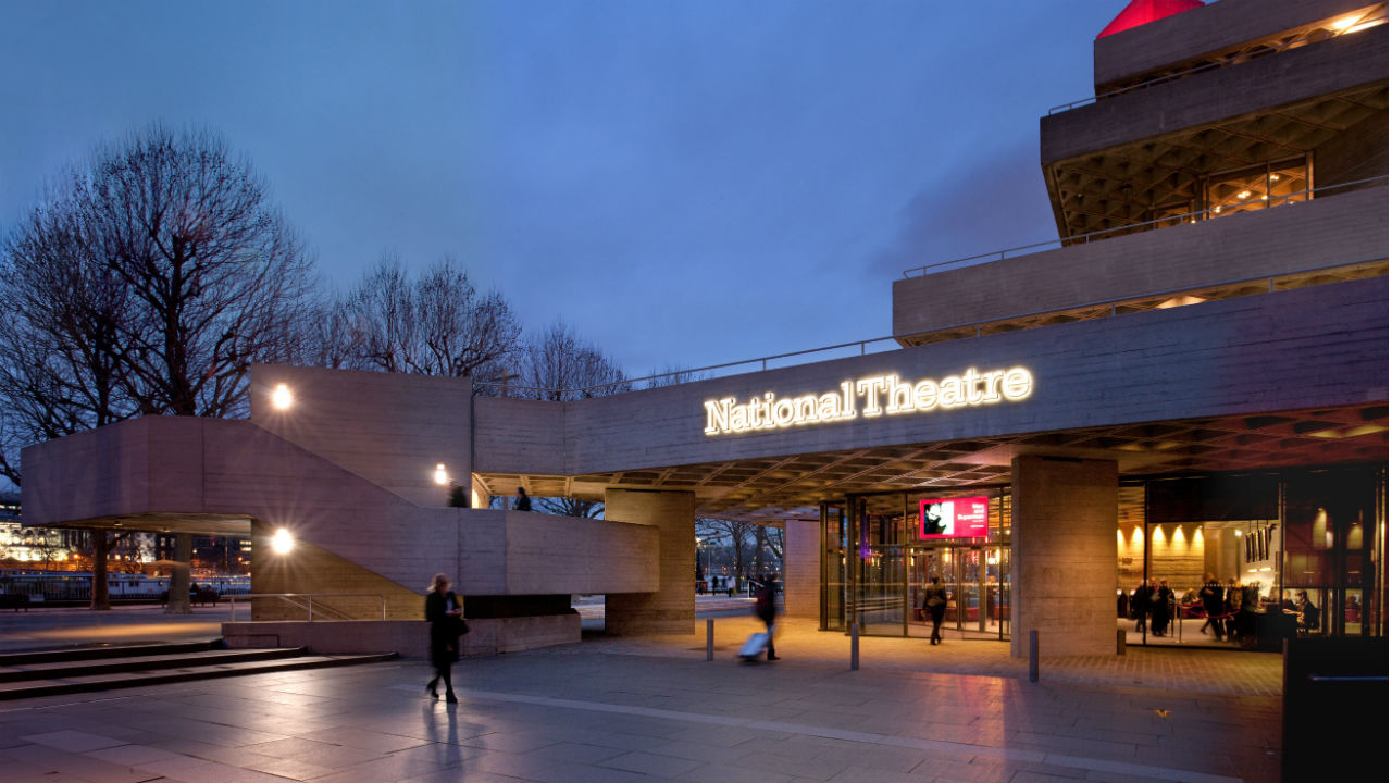 Located on the south bank of the Thames, the Royal National Theatre features three performance spaces: The Olivier, The Lyttelton, and The Dorfman.