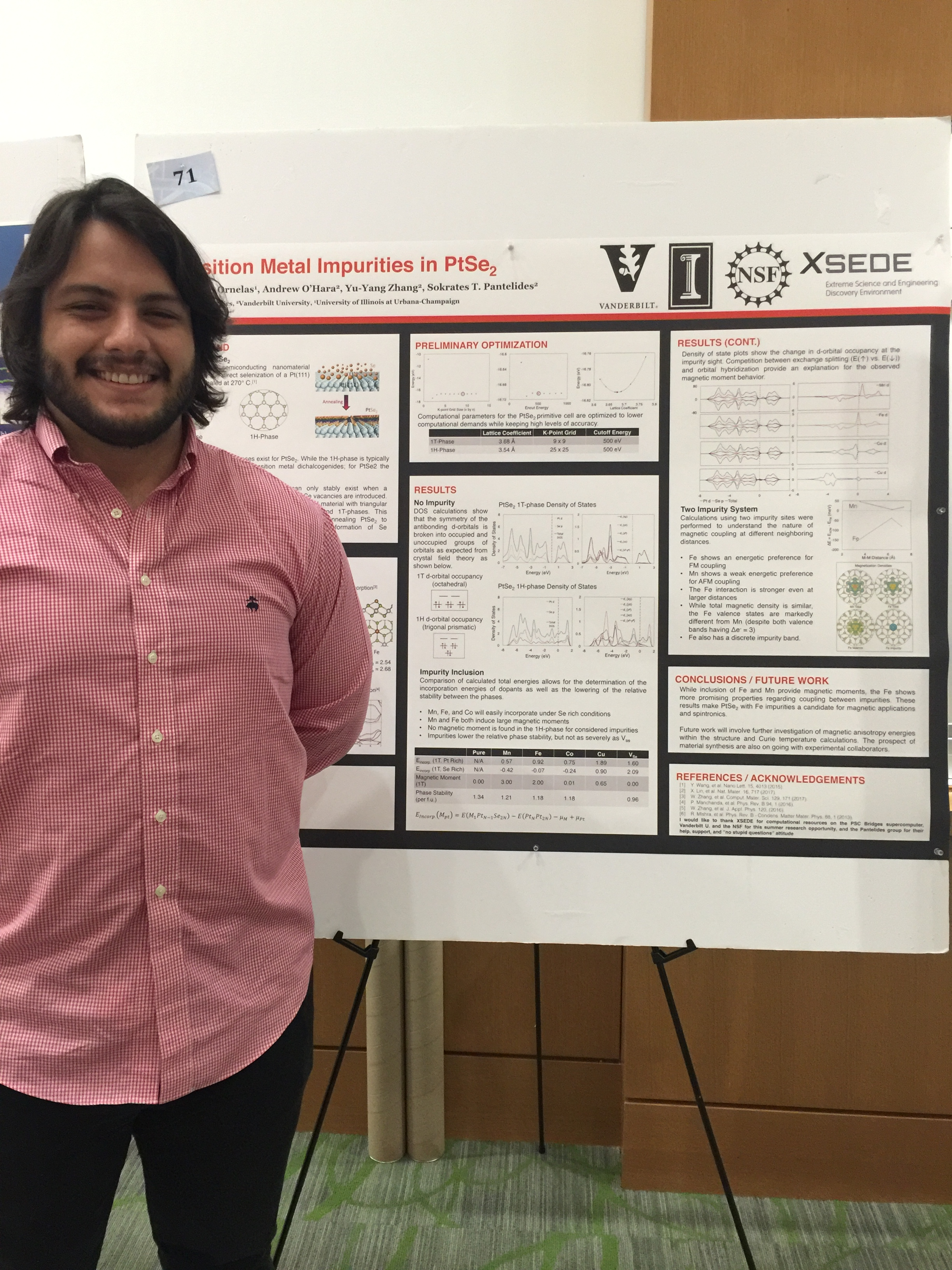 VSSA Summer Research Symposium, Vanderbilt University: Christian Ornelas.