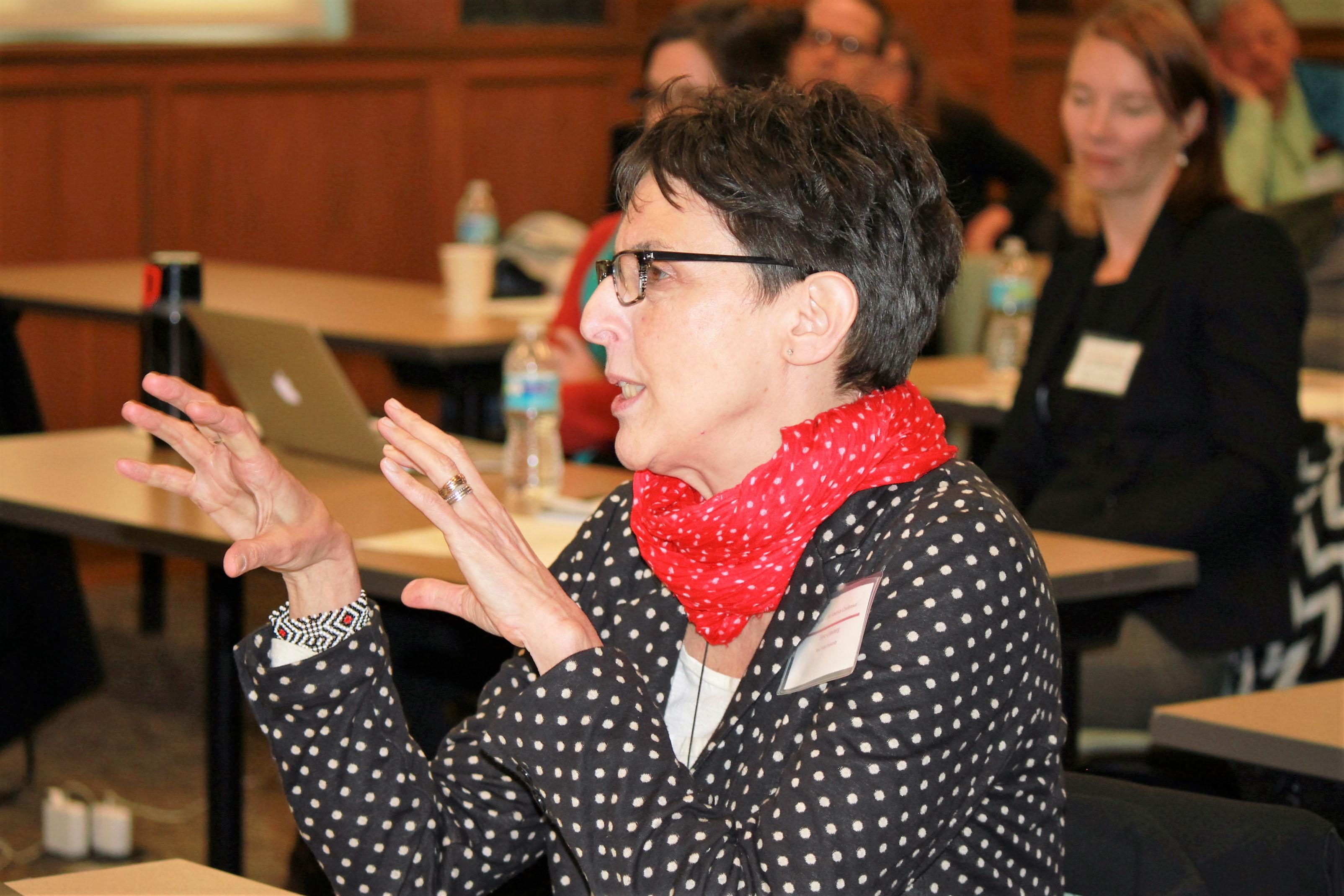 2015 Keynote speaker Faye Ginsburg